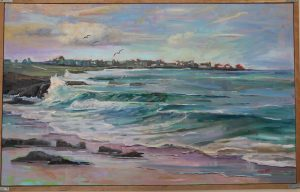 Marie Massie with dreams of Spanish Bay